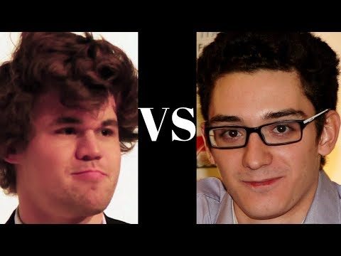 Amazing Blockade! : Magnus Carlsen vs Fabiano Caruana Altibox Norway (2018),:  Bishop's Opening