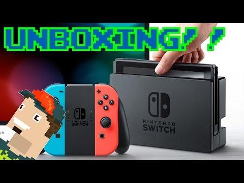 Nintendo Switch || UNBOXING Y PRIMERAS IMPRESIONES!!