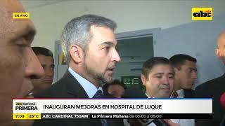 Habilitan pabellón en Hospital de Luque