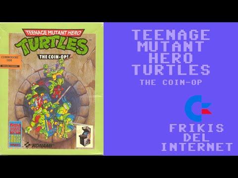 Teenage Mutant Ninja Turtles - The Coin-op (c64) - Walkthrough comentado (RTA) #Frikis del Internet