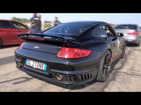 1400HP 9FF Porsche 997 GT2 Lovely Sounds & 0-360km/h Accelerations!