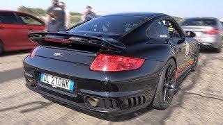 1400HP 9FF Porsche 997 GT2 Lovely Sounds  0-360km/h Accelerations!