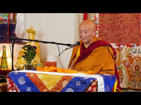 Gyumed Khensur Rinpoche Lobsang Jampa: The Easy Path, Part 1