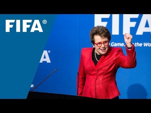 VIDEO: FIFA Women's Football & Leadership Conference
