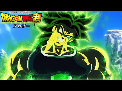 Broly Vs Goku And Vegeta In The Dragon Ball Super Broly Movie