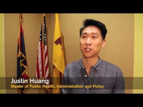 Student Story: Justin Huang, Master of Public Health, Administration and Policy