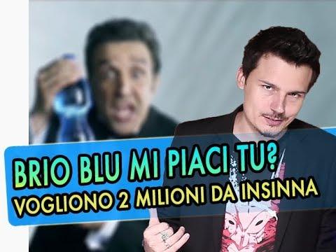"""Insinna e il caso """"Nana di M**DA"""": Brio Blù vuole due milioni"""