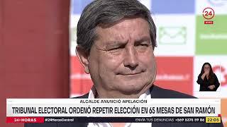 Alcalde de San Ramón anunció que apelará al fallo de Tribunal Electoral