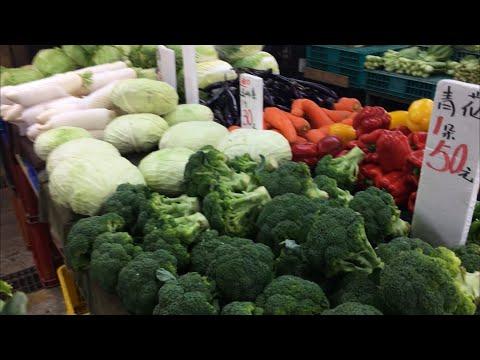 去買菜了พาชมราคาผักของไต้หวันช่วงพ