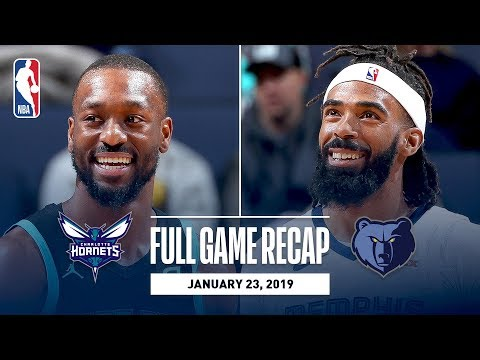 Full Game Recap: Hornets vs Grizzlies | Gasol Records Triple-Double