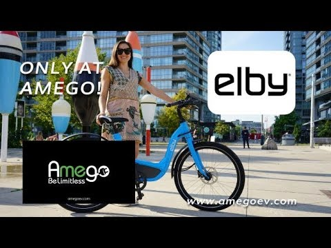 Elby electric bike at Amego!