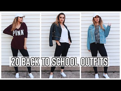Back to School Outfit Ideas | 20 OUTFITS FROM 10 ITEMS