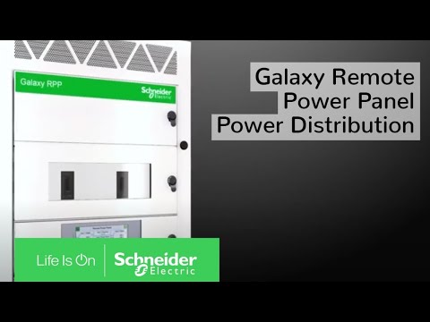 Galaxy RPP Power Distribution for Data Centers & Colocation Facilities | Schneider Electric