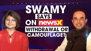 Chinese Retreat: Withdrawal or Camouflage? | Swamy Says On NewsX  | NewsX - NEWSXLIVE