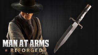 Westworld - The Man in Black's Bowie Knife - MAN AT ARMS: REFORGED