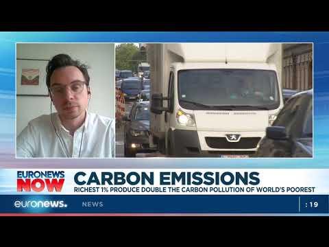 Carbon emissions: Richest 1% produce double the carbon pollution of world's poorest