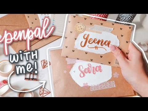 PENPAL WITH ME | writing letters to my subscribers ?