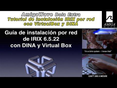 Tutorial, paso a paso, de instalación remota en red de IRIX con DINA.