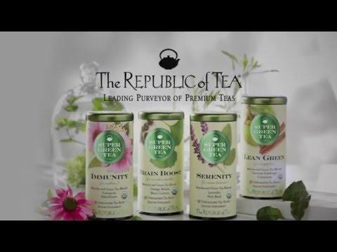 SuperGreen Teas from The Republic of Tea