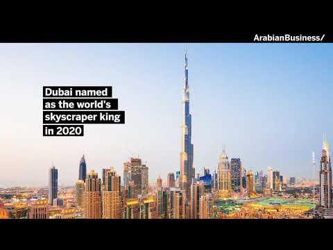 Dubai named as the world's skyscraper king in 2020