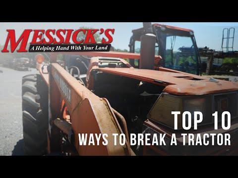 Top 10 Ways - Tractors are broken Picture