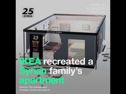 Ikea recreated a Syrian family's apartment