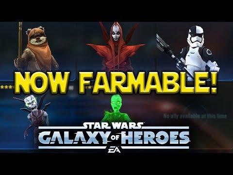 Talzin Wicket Now Farmable | Star Wars: Galaxy Of Heroes