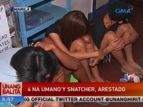 UB: 4 na umano'y snatcher, arestado