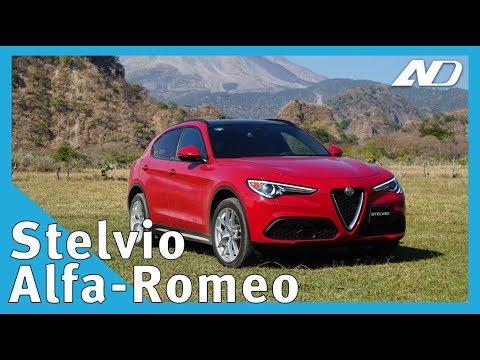Alfa-Romeo Stelvio - No es un endulzante artificial, es el SUV más ágil - Primer Vistazo