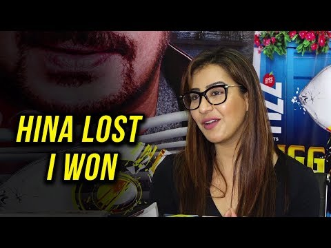 connectYoutube - Shilpa Shinde REACTS on Hina Khan LOSING Bigg Boss 11 | Press Conference