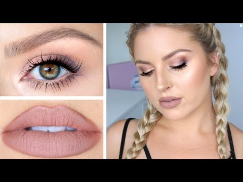 Hair, Makeup & Skin Tutorial! ? Soft Daytime Smokey Eye for Autumn!