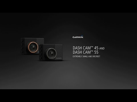 Garmin Dash Cam™ 45 and Dash Cam 55: Compact & discreet eyewitnesses
