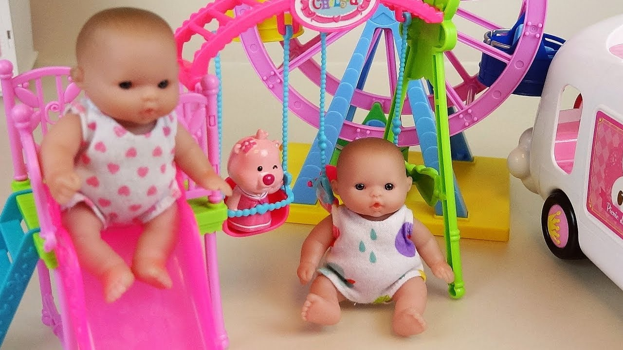 Baby Doli play park and house toys baby doll play