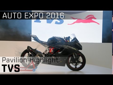 TVS Motors :: Akula 310, ENTORQ 210 and X21 concepts :: Auto Expo 2016