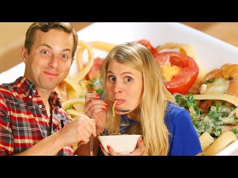 Ned And His Wife Make One-Pot Garlic Butter Pasta