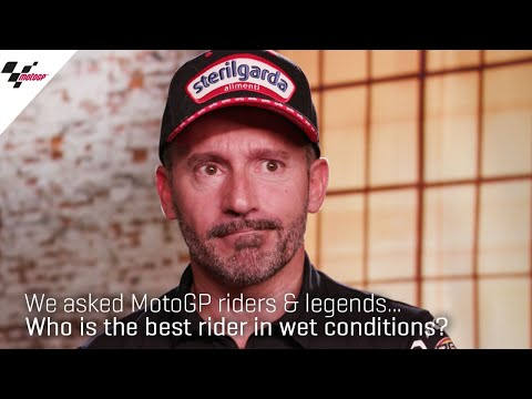 Who is the best rider in wet conditions"