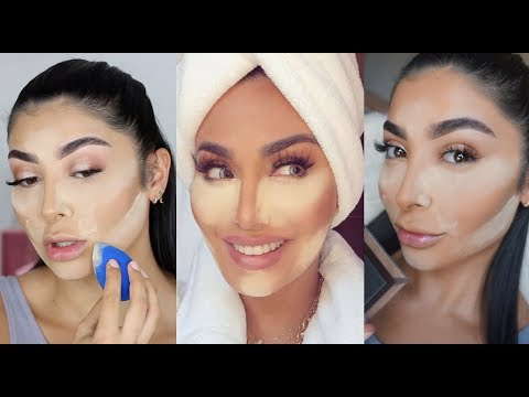 HUDA BEAUTY EASY BAKE REVIEW & TUTORIAL I Nina Vee