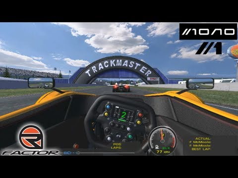 BAC MONO Super Kart @ Orchard Lake || rFactor (PC) Gameplay en Español