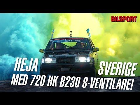 Vilken Sverige-hyllning - Fredriks 720 hk Volvo B230 8-ventilare!