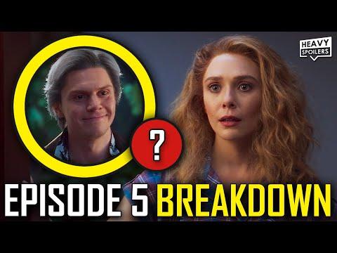 WANDAVISION Episode 5 Breakdown & Ending Explained Spoiler Review | Marvel Easter Eggs & Theories