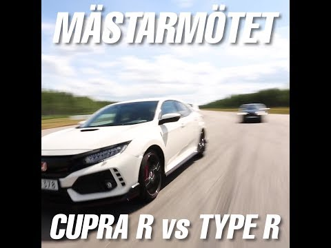 Seat Leon Cupra R vs Honda Civic Type R (Bilsport 11)