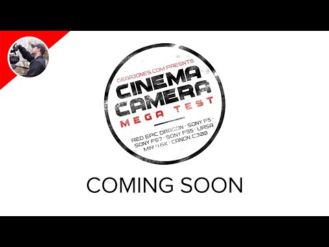 Cinema Camera Mega Test - Coming Soon!