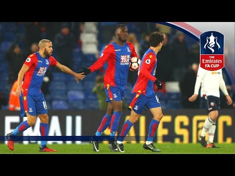 Crystal Palace 2-1 Bolton Wanderers (Replay) Emirates FA Cup 2016/17 (R3) | Goals & Highlights