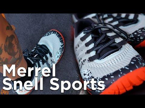 Merrel Trail Glove 5 minimaliste Test Snell Sports Chamonix Mont-Blanc course en montagne