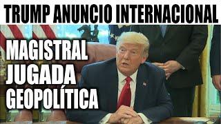Ultimas noticias EEUU, TRUMP NUEVO ANUNCIO INTERNACIONAL 24/10/2020