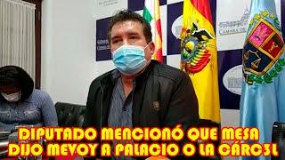 DIPUTADO PARDO LAS MOVILIZ4CIONES FUERON CONVOC4DAS POR CARLOS MESA HOY QUIERE VICTIMIZ4RSE..