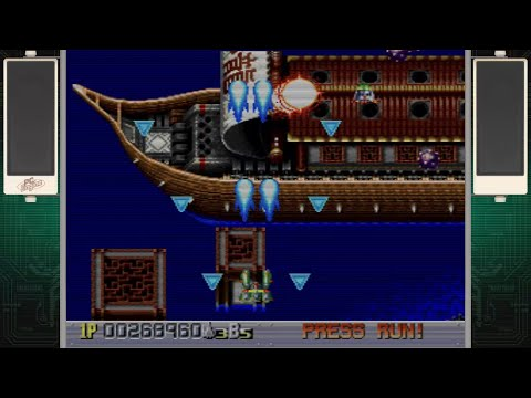 Ginga Fukei Densetsu Sapphire 銀河婦警伝説サファイア (PC-Engine CD) - Longplay - 1cc [PC Engine CoreGrafx Mini]