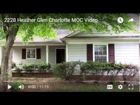 """""""Charlotte  Rental Home""""Move out  Video for 2228 Heatherglen  by """"Charlotte  Property  Management"""""""