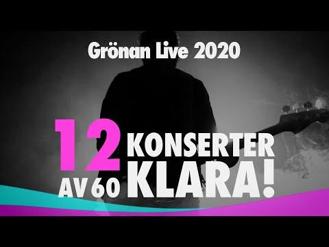 12 första konserterna till Grönan Live 2020!