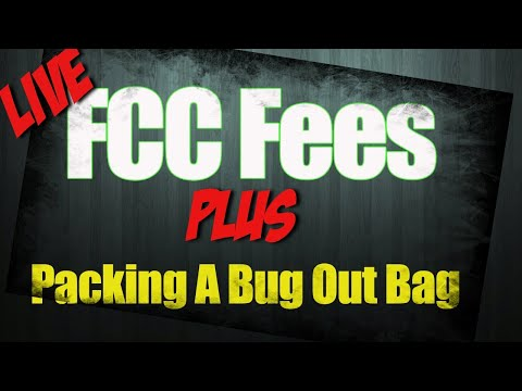 It's only  a year and packing a bug out bag: Live discussion